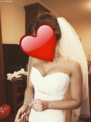 Счастливое свадебное платье !