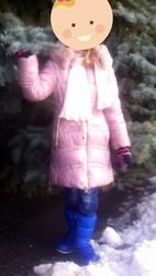 Куртка для девочки 7-9 лет