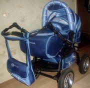 Продам коляску-трансформер,  модель ADAMEX X-TRIAL,